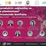 Конференция по репродуктивному здоровью в Азербайджане_03.05.2021
